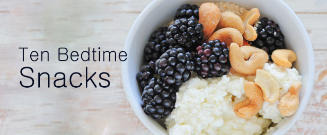 Good bedtime snacks for adults consider, that