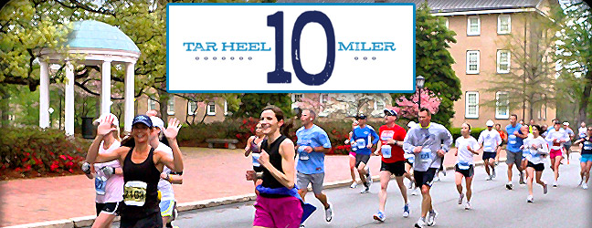 Tar Heel 10-Miler This Saturday
